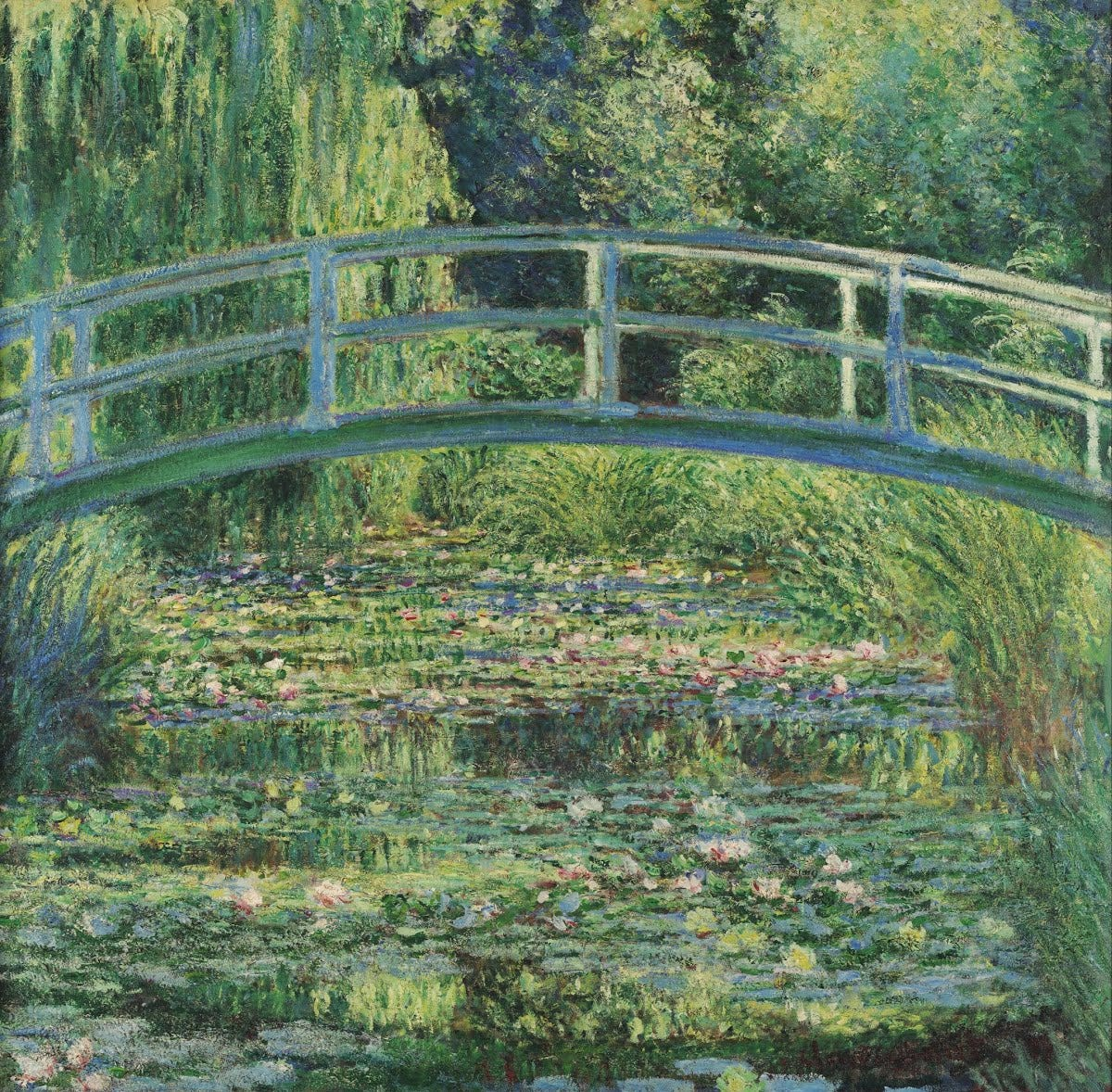 The Water-Lily Pond - Claude Monet — Google Arts & Culture