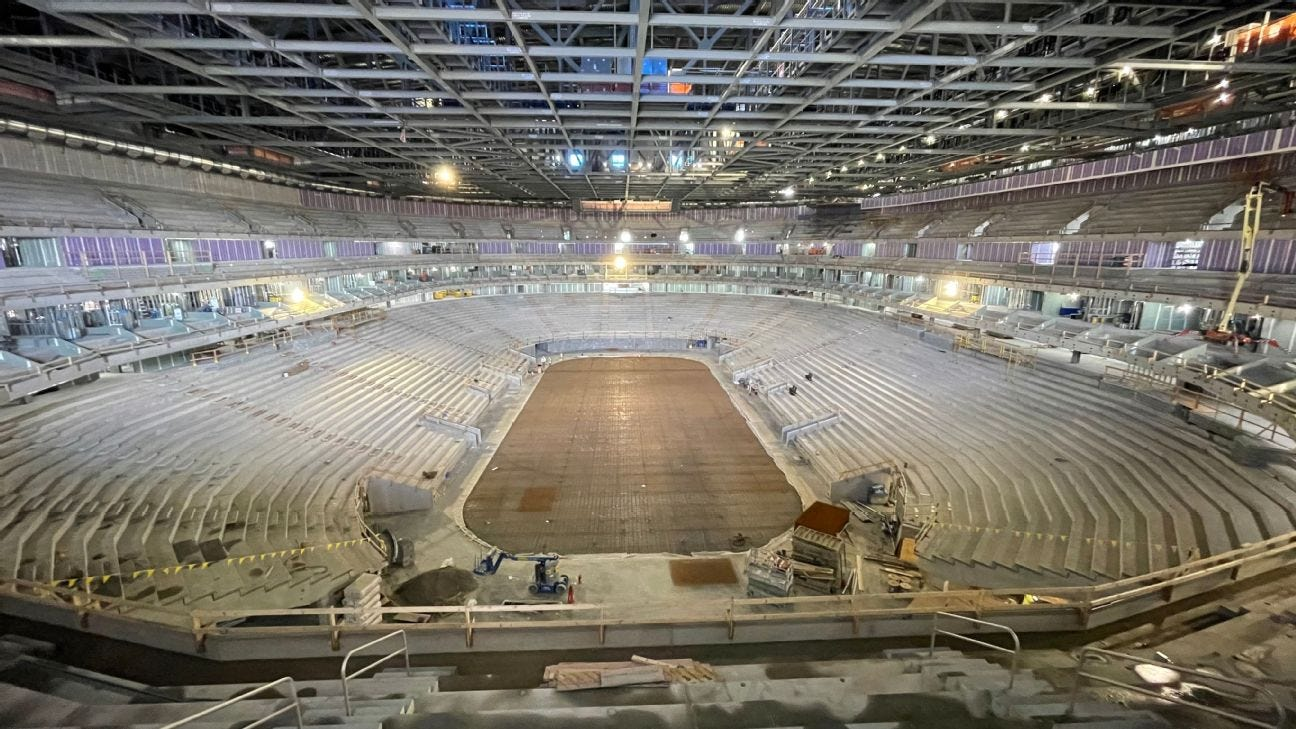 Inside the New York Islanders' new UBS Arena, built for the NHL's COVID-19  era