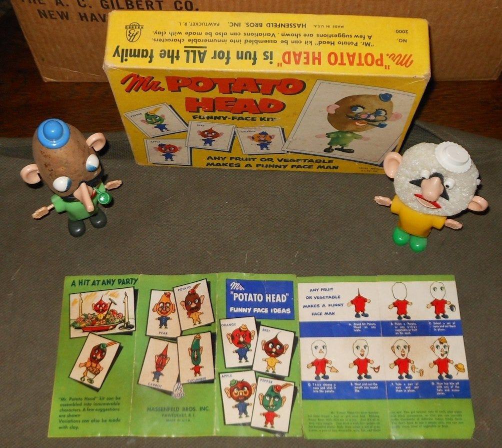 An original Mr. Potato Head set