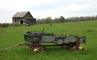 Old Farm in Virginia   A lovely old Wagon on an old farm ...