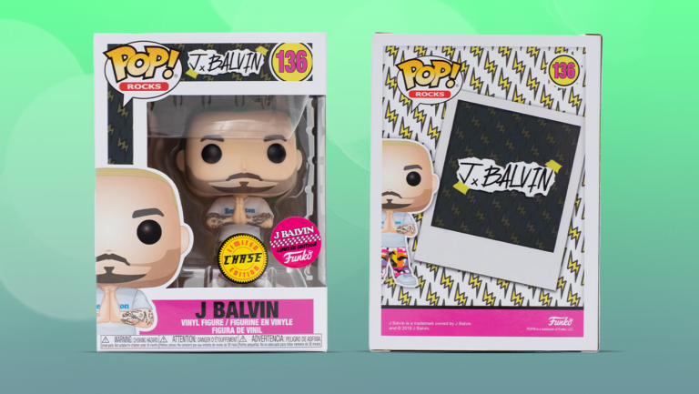 "DropX: Funko Pop! Rocks J Balvin ""Green Hair"" Limited Edition ..."