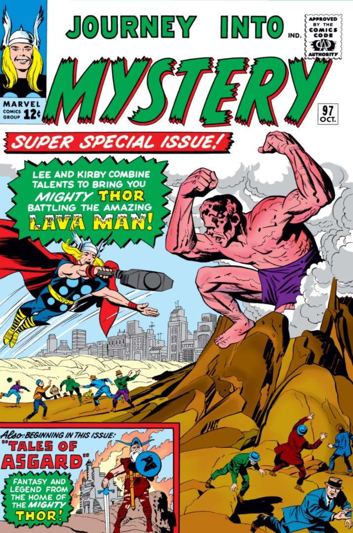 Journey into Mystery Vol 1 97 | Marvel Database | Fandom