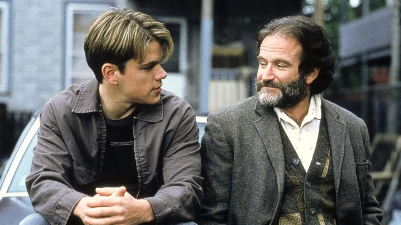 The Story Of How Robin Williams Made Millions From Good Will Hunting