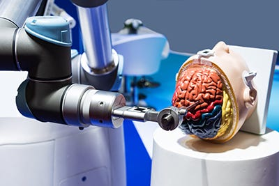 5G-Powered Medical Robot Performs Remote Brain Surgery