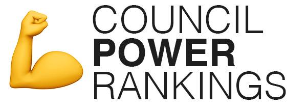Council power rankings logo