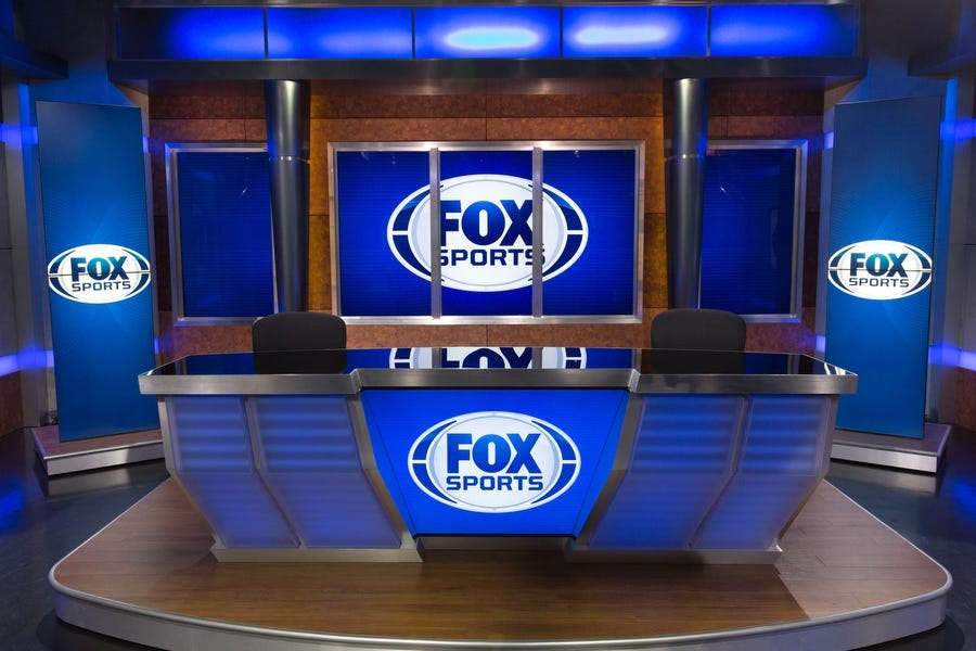 Fox Sports South Broadcast Set Design Gallery