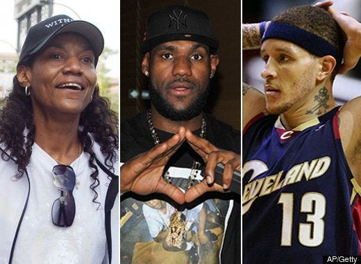 Delonte West DENIES Sex With LeBron James' Mom   HuffPost