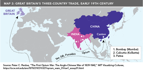 Where was the opium from the Opium Wars grown? - Quora