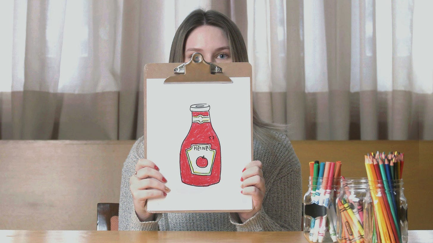 Asked to Draw Ketchup, People Around the World Drew Heinz | Muse by Clio
