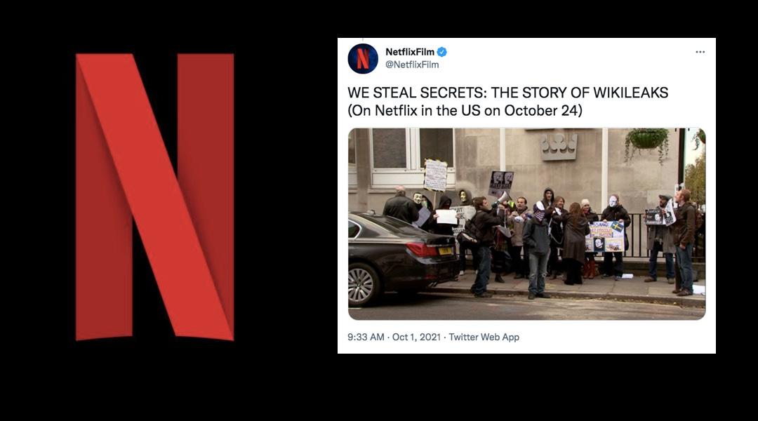 Netflix startet WikiLeaks-Verleumdungsaktion drei Tage vor Assanges Gerichtstermin