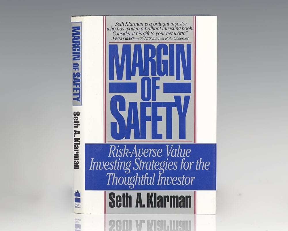 The Margin of Safety Seth Klarman First Edition Signed