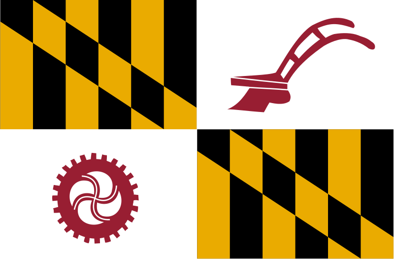 File:Flag of Baltimore County, Maryland.svg