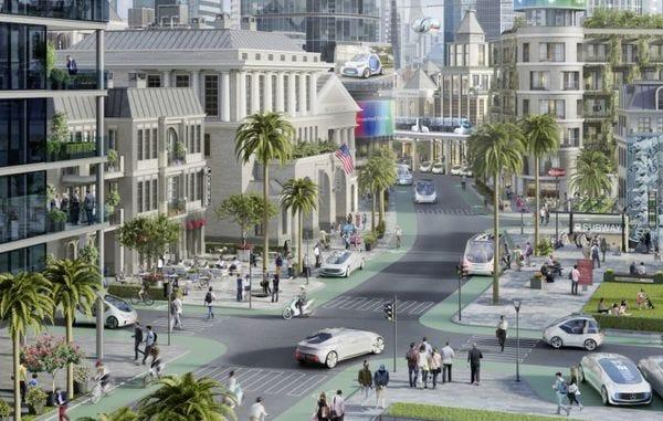 Daimler, Bosch and  NVIDIA head to California