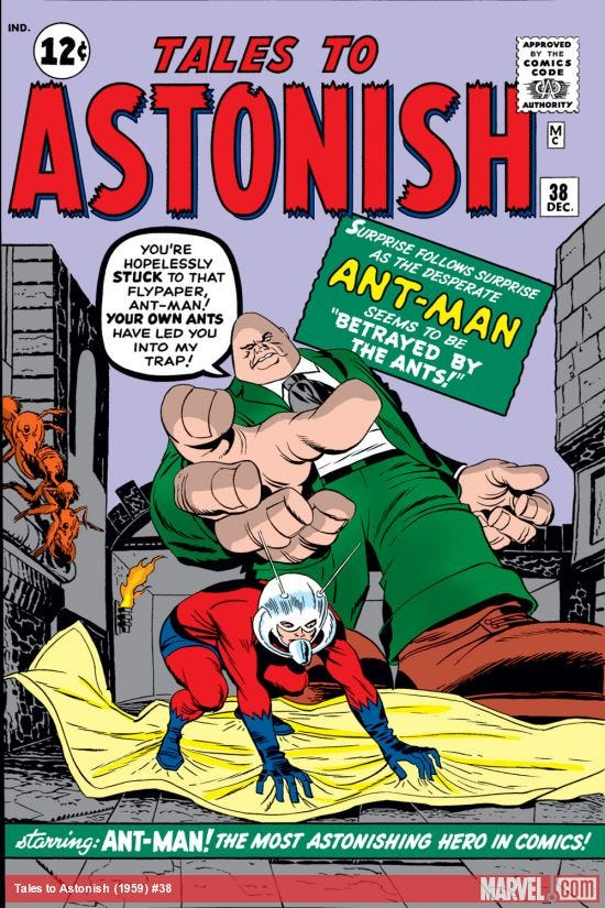 Tales to Astonish (1959) #38 | Comic Issues | Marvel