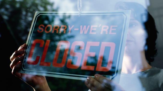 Premium: Small business entrepreneur store closing