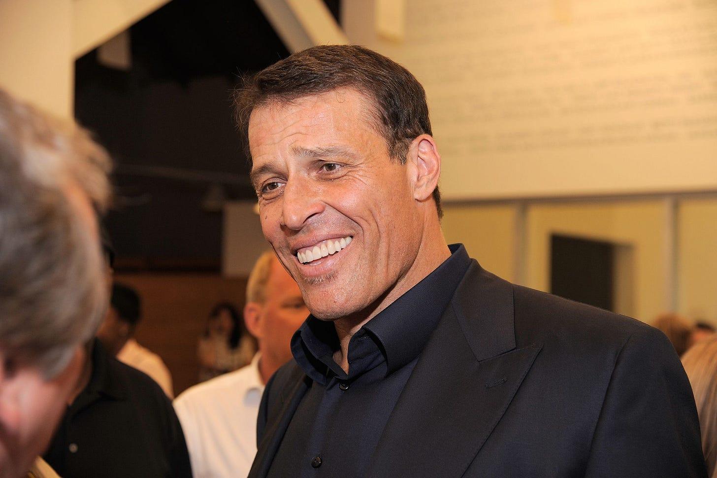 Tony Robbins accused of berating rape victims, misconduct