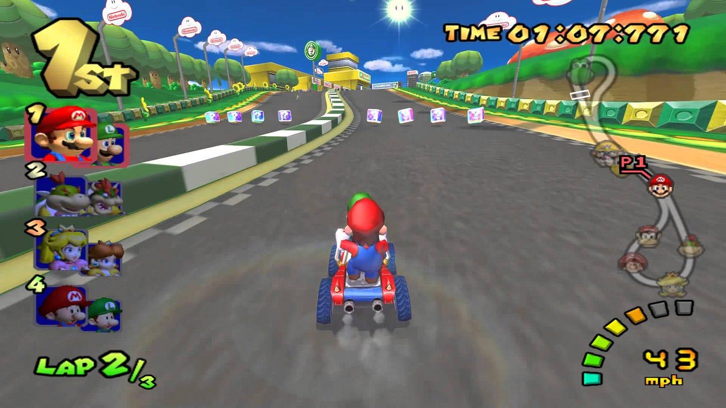 The best Mario Kart: Double Dash powerups, ranked
