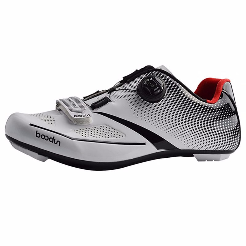 BOODUN Road Cycling Shoes Sapatilha Ciclismo Men sneakers self-locking racing Bike bicycle sports Athletic Professional shoes