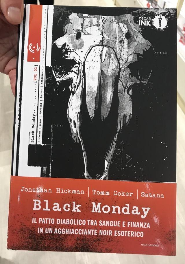 Black Monday, dettaglio copertina
