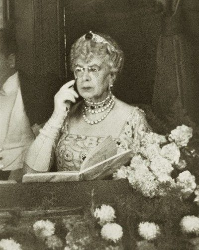 One of my favorite images of dowager Queen Mary. Early 1940s. | Queen mary,  Royal family, European royalty