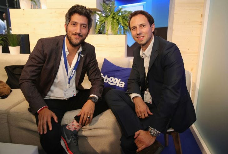 Adam Singolda and Stefan Betzold