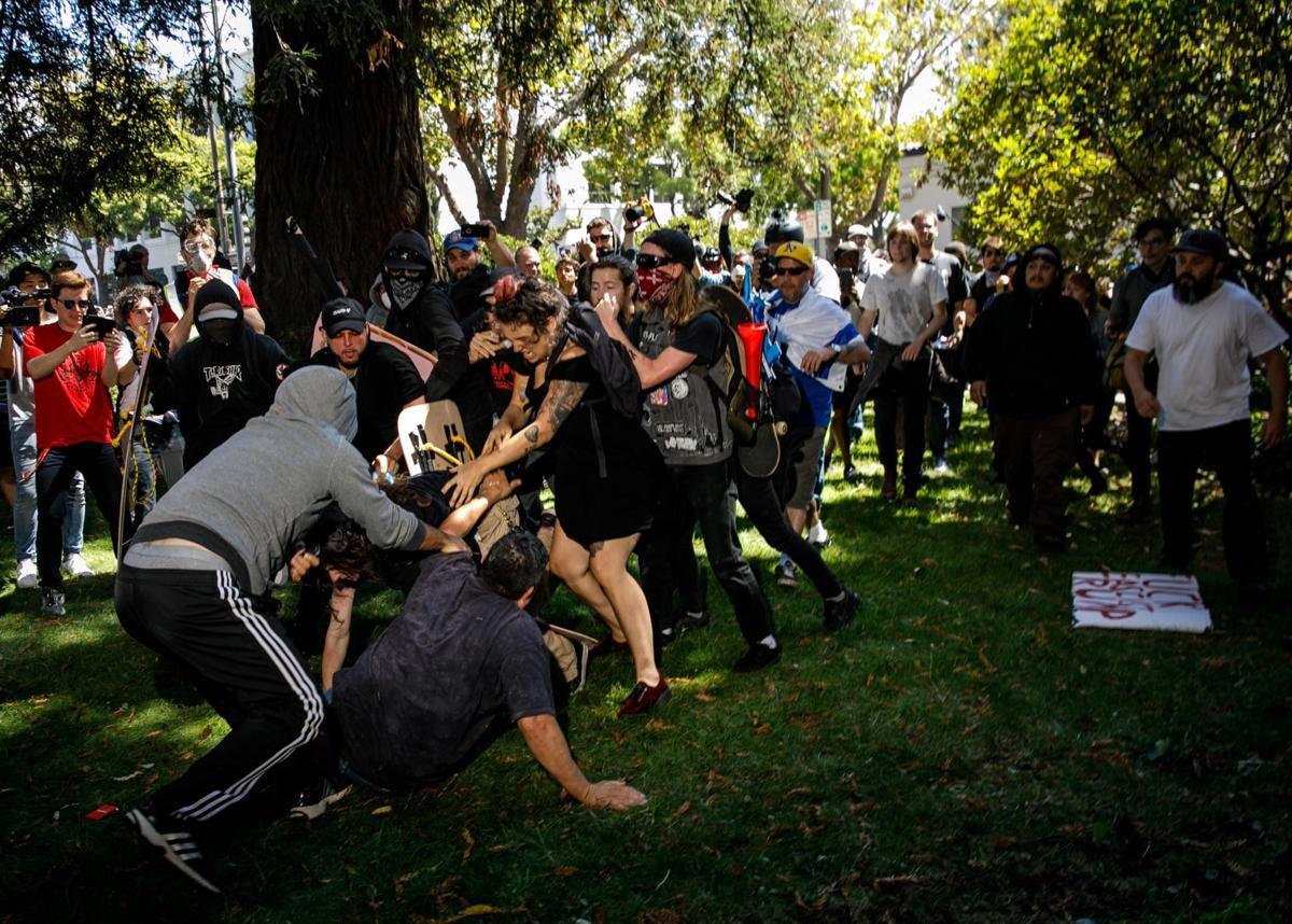 Antifa violence in Berkeley becomes problem for left-wing activist  community   News   lacrossetribune.com