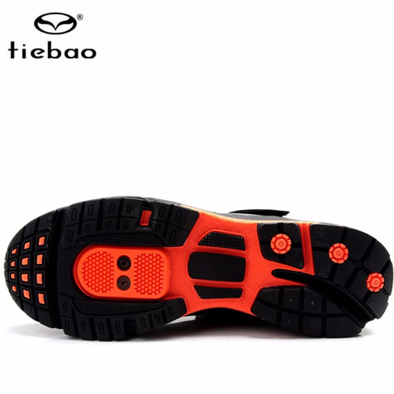Tiebao Leisure Cycling Shoes Men sapatilha ciclismo mtb Men Road Athletic mountain Bike Rubber Soles Self-Locking sports Shoes