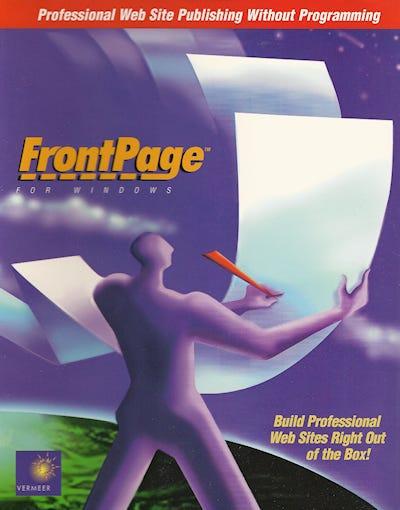 Original Vermeer FrontPage 1.0 box