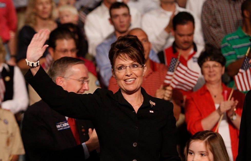 Sarah Palin is owed apologies by establishment media