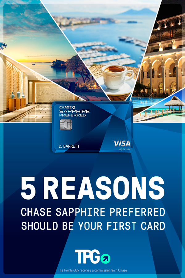 Looking for a credit card? 5 reasons why the Chase Sapphire Preferred  should be your first - The Points Guy | Travel rewards credit cards, Travel  rewards, Rewards credit cards
