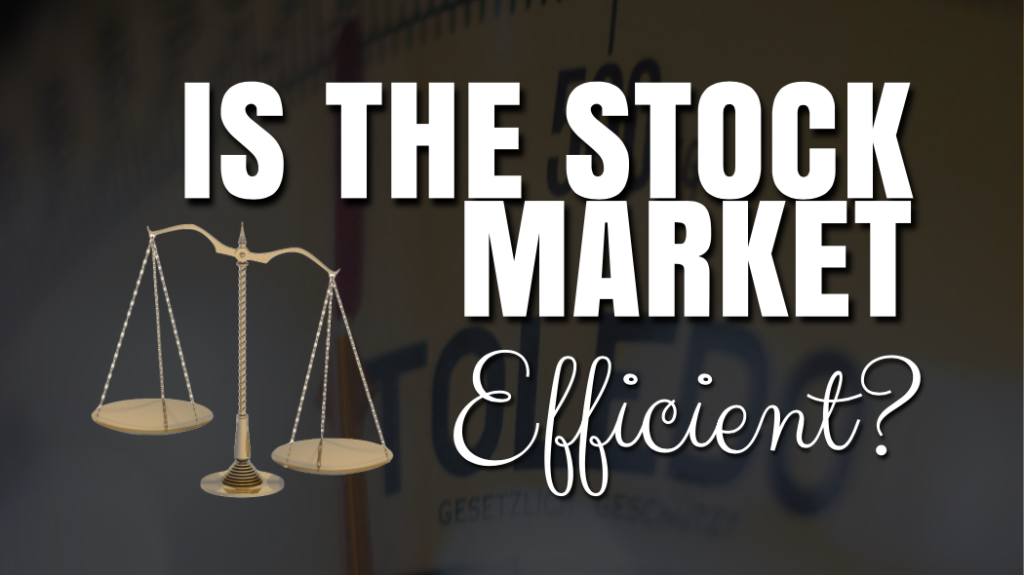 Efficient Market Hypothesis -The Only Theory That You Need to Read Today