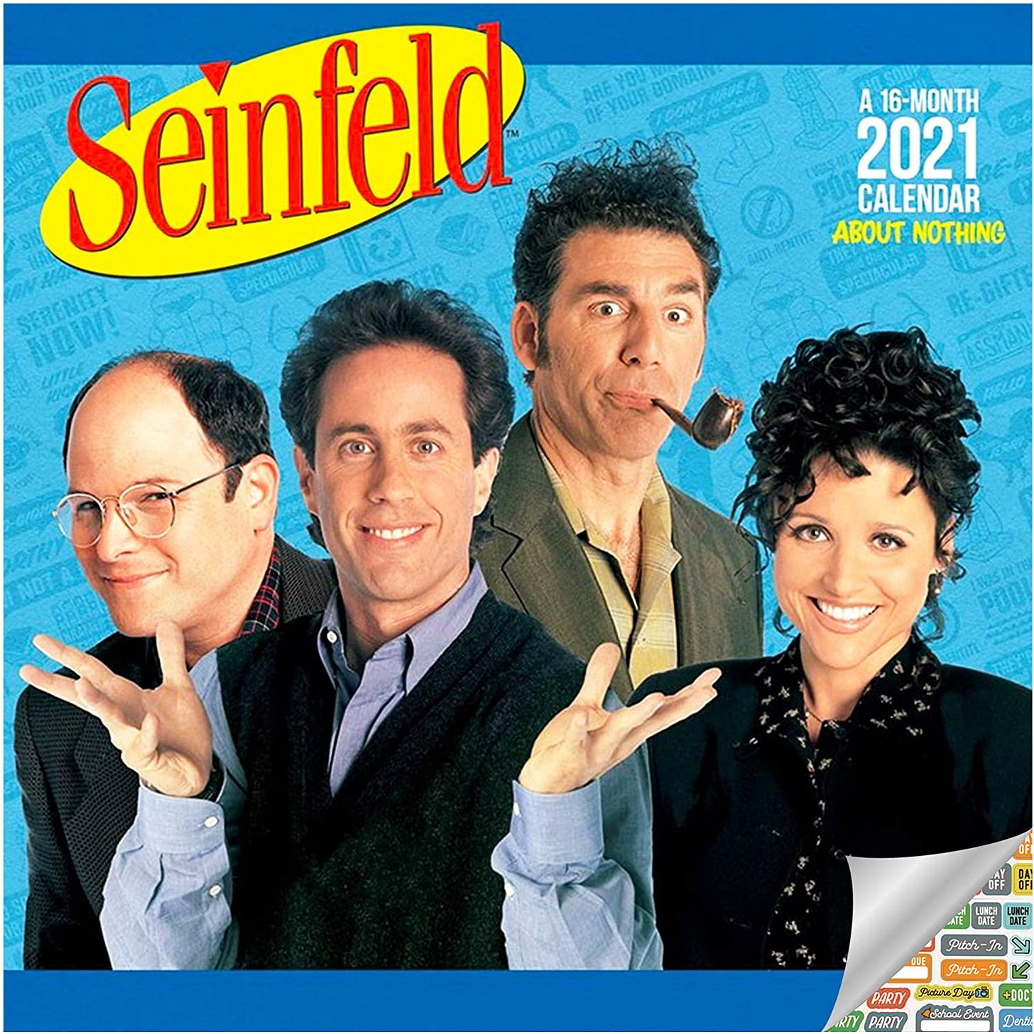 Those dicks from Seinfeld looking like a bunch of dicks.