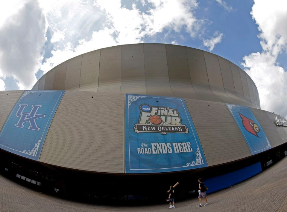 The Superdome. (AP Photo/David J. Phillip)
