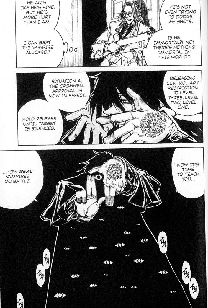 Jason Thompson's House of 1000 Manga - Hellsing - Anime ...