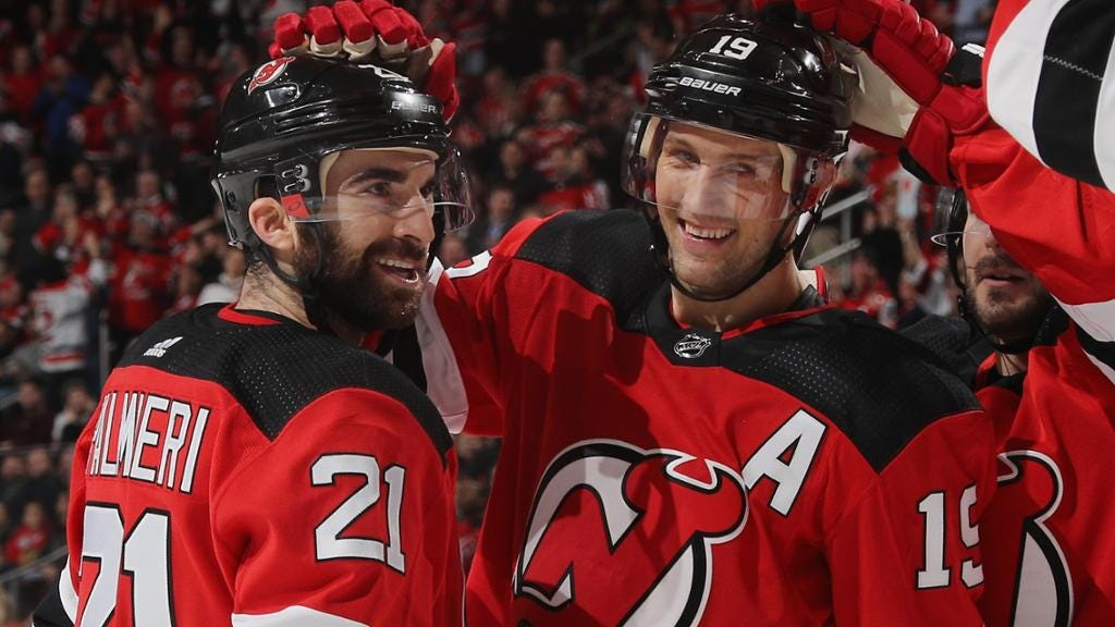 Islanders Acquire Palmieri and Zajac from the Devils