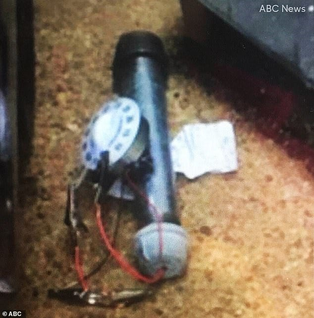Pipe bomb was left outside the Republican National Committee headquarters  near Capitol | Daily Mail Online