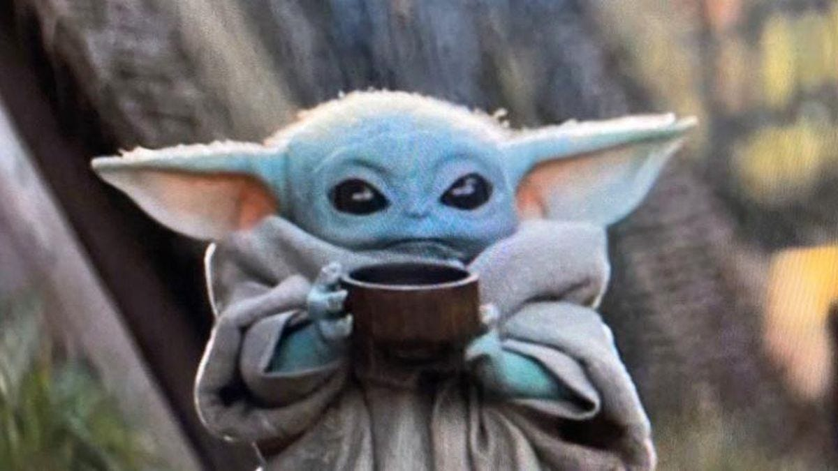Image result for baby yoda