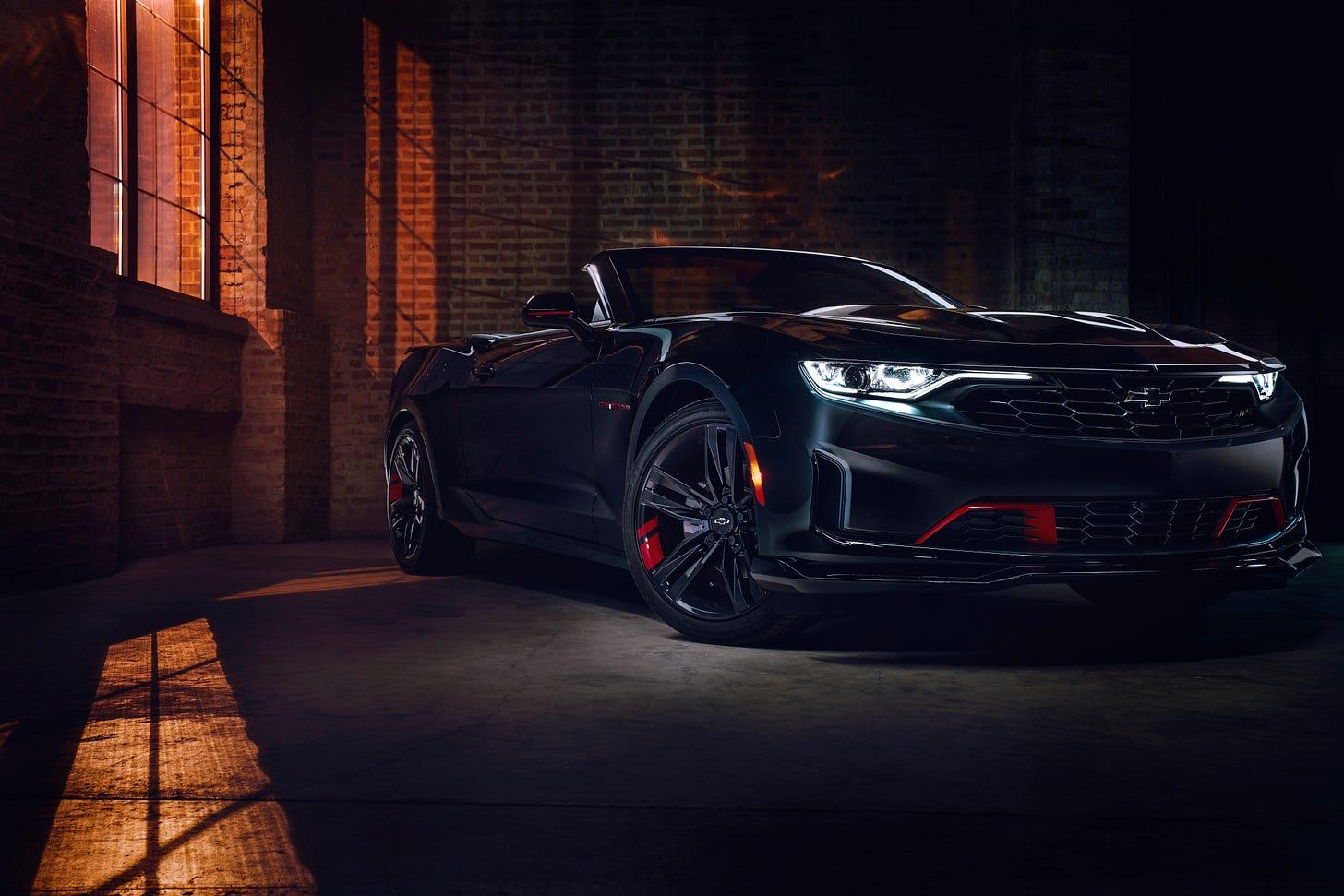 The 2021 Chevrolet Camaro Convertible