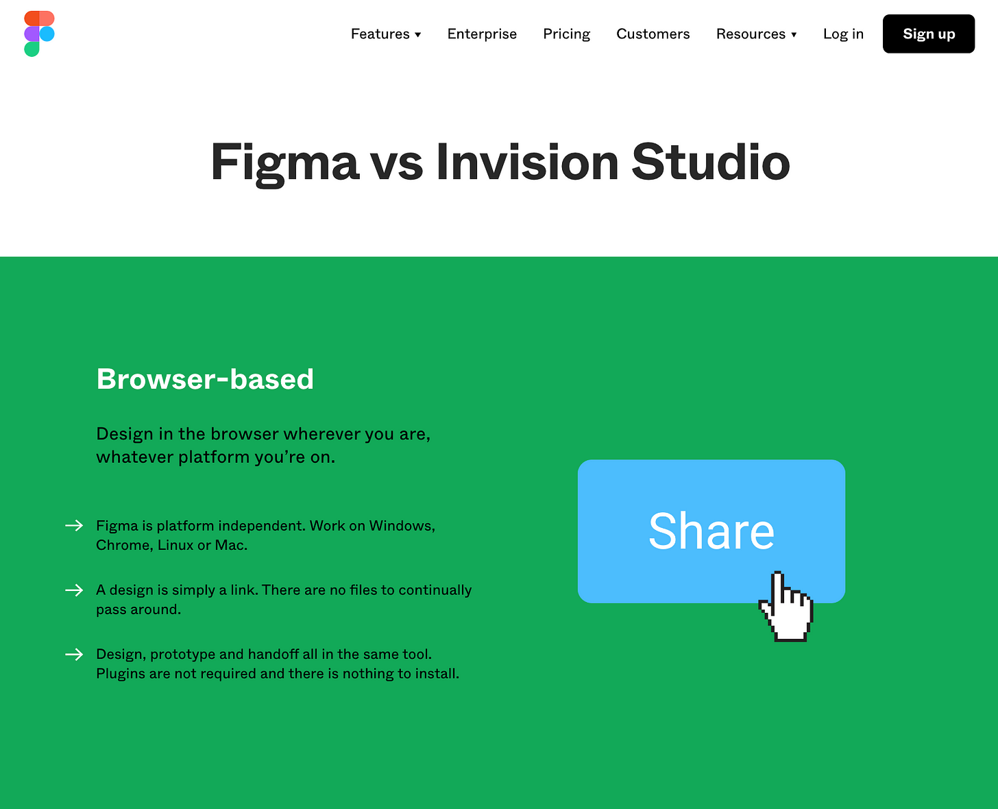 Figma vs Invision