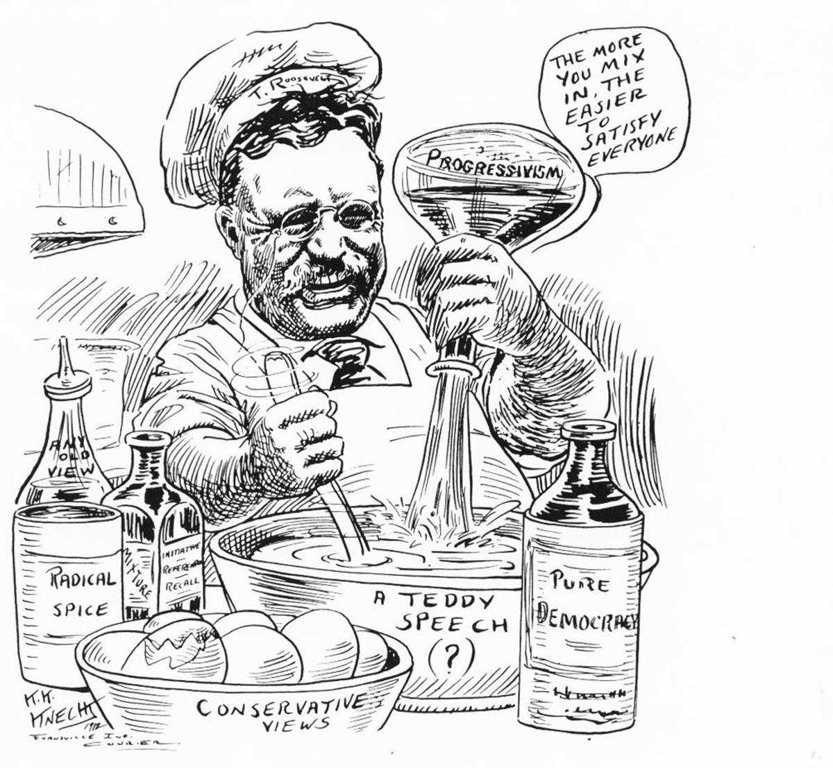 theodore_roosevelt_cartoon_chemist_satterfield_new_nationalism_via Jamesstrock.substack.com