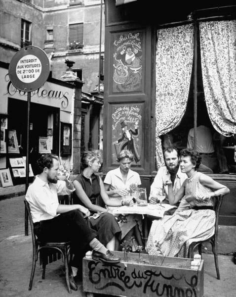 Photograph–The Old Time | Vintage paris, Cafe society, Paris cafe