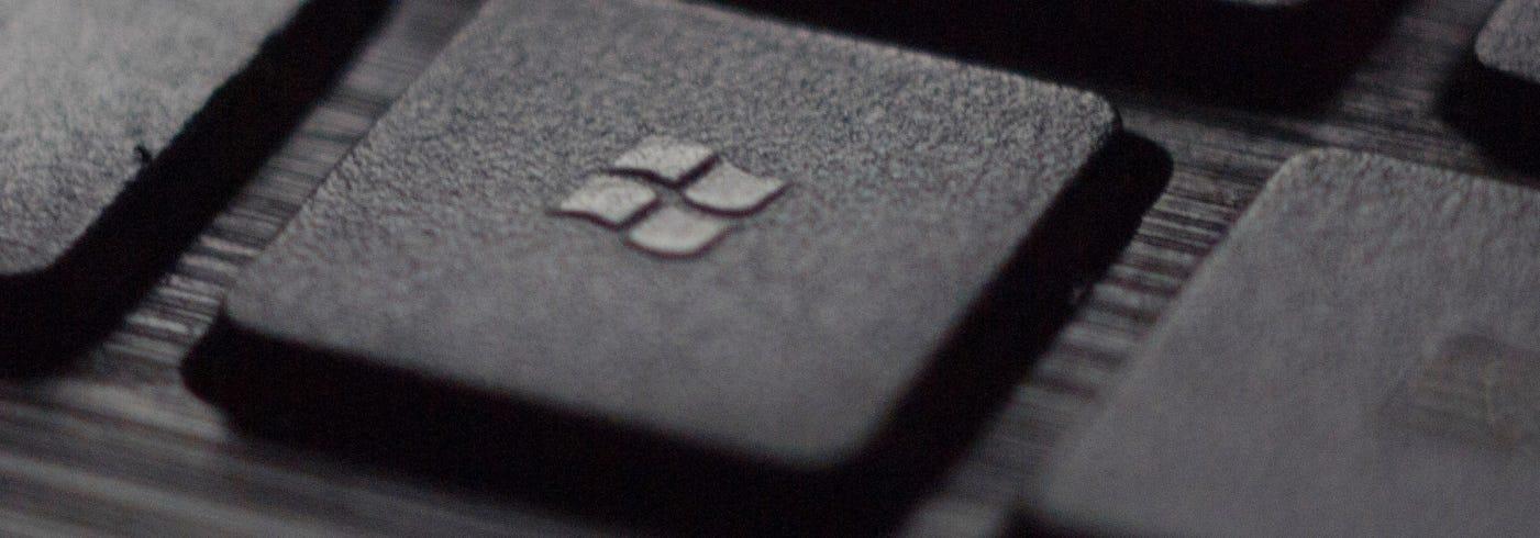 Windows Logo on a Keyboard Key