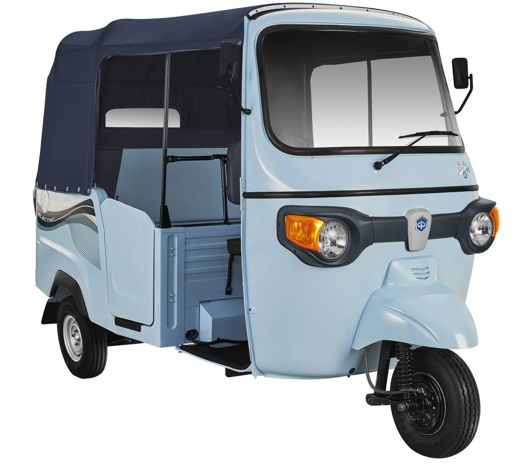 Image result for piaggio ape electric electric 3-wheeler