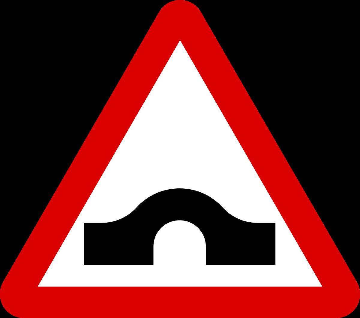 Fichier:Mauritius Road Signs - Warning Sign - Hump Bridge.svg ...
