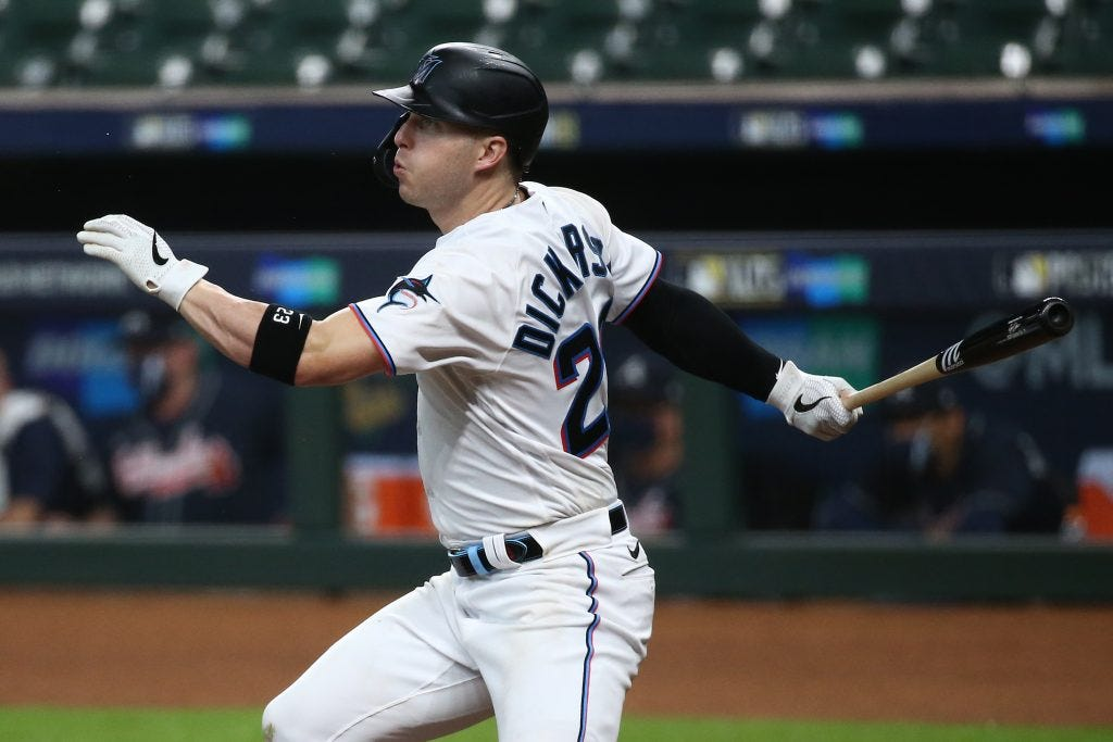 Corey Dickerson Placed On IL For Foot Contusion - MLB Trade Rumors