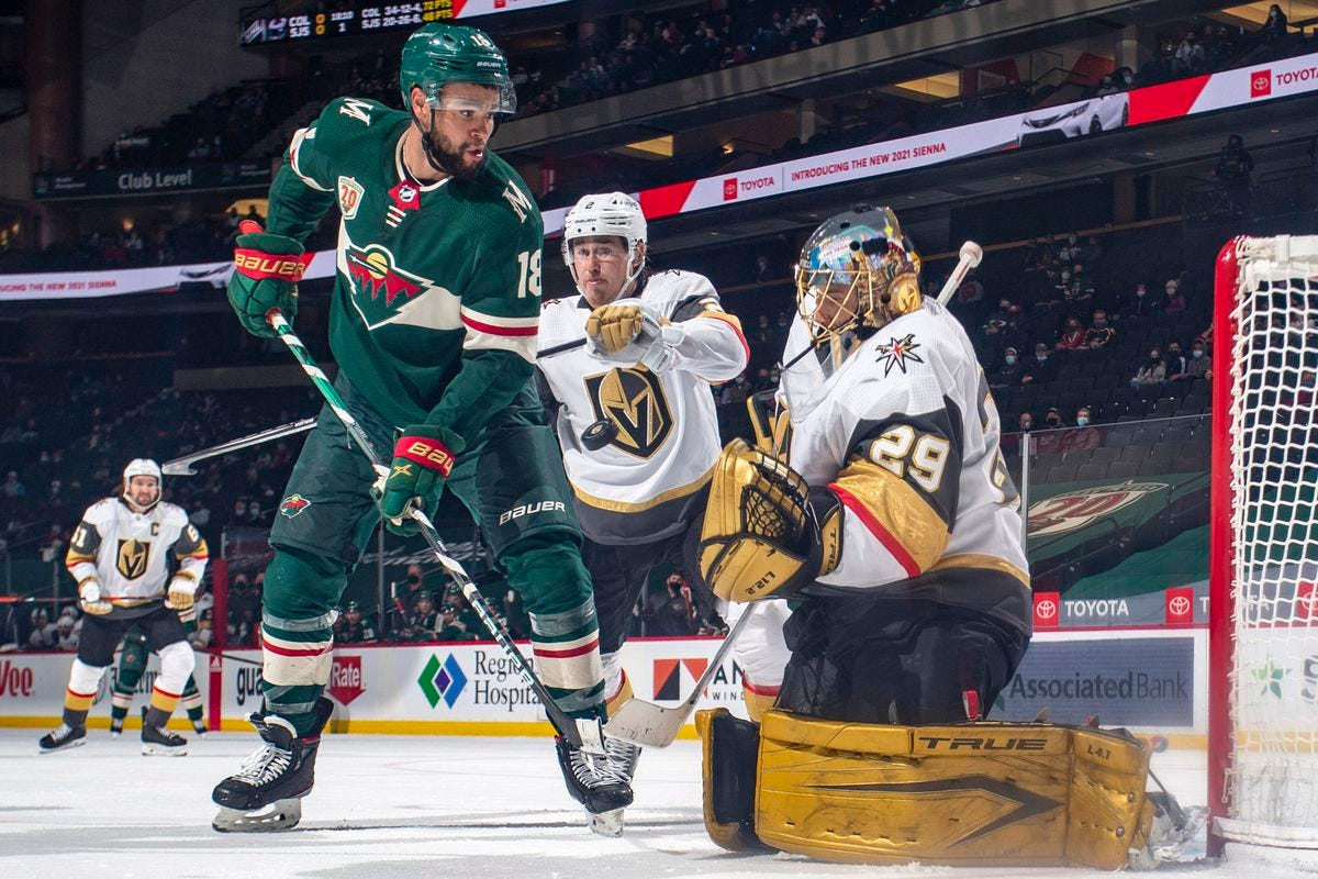 Vegas Golden Knights to face Minnesota Wild in first round of Stanley Cup  Playoffs - Knights On Ice