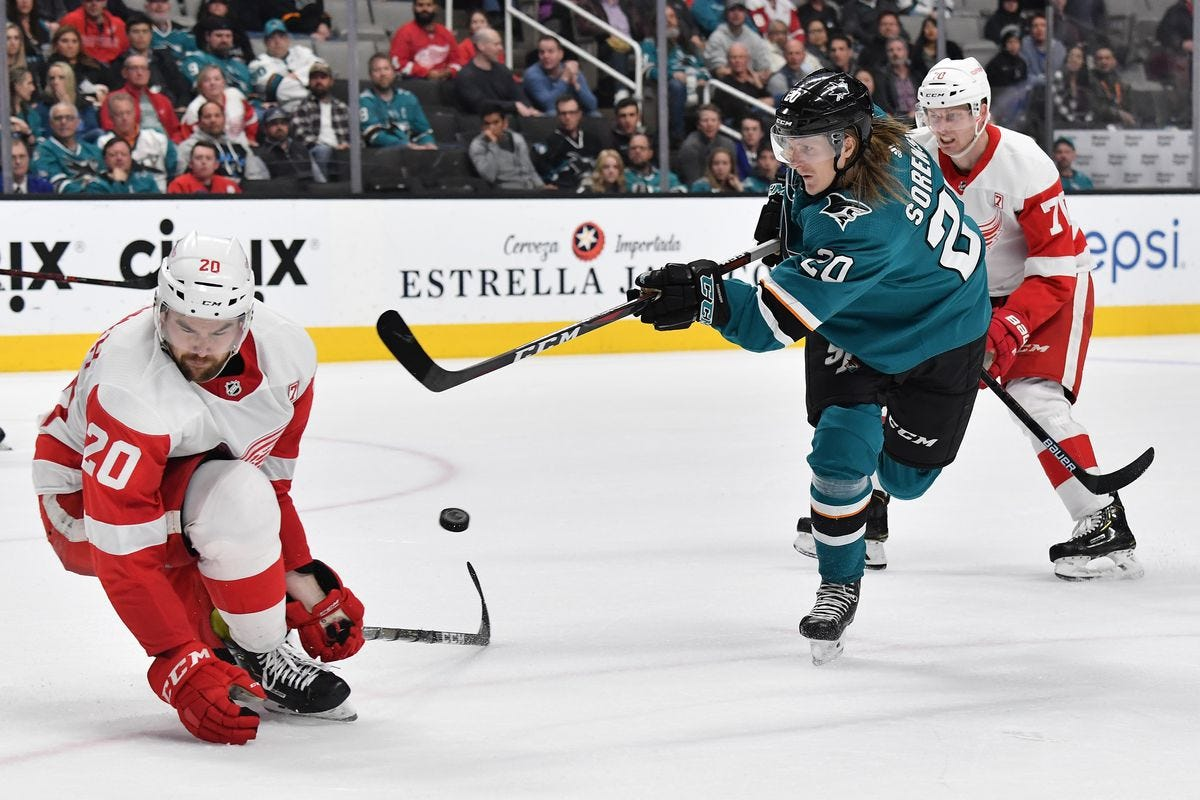 Five reasons Detroit Red Wings at San Jose Sharks is one you can't ...