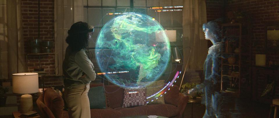Alex Kipman announced Microsoft Mesh and Microsoft Ignite 2021