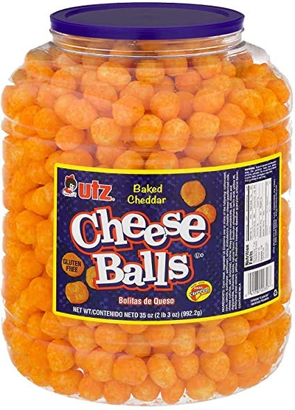 UTZ Baked Cheddar Cheese Balls (35 OZ), 35 Ounces: Amazon.ca: Grocery