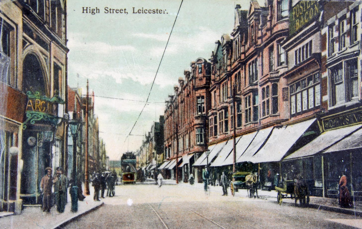 High Street - Story of Leicester